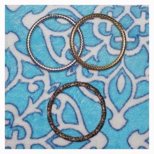Three bangle bracelets (listed 09.21.18)